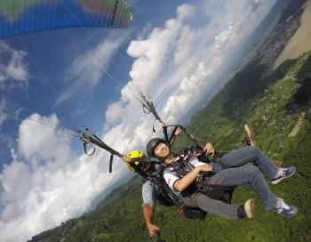 Acrobatics flight